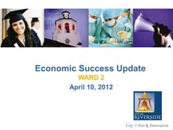 ILS Featured as an ecconomic success in Riverside, CA